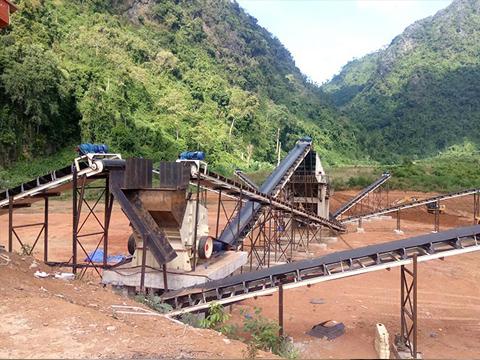砂石料生产线1213石子生产线 碎石设备工