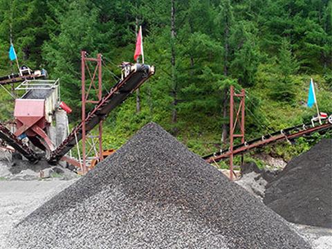 新型河卵石制砂机生产线配置及河卵石制
