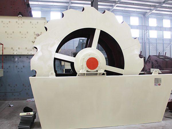 轮式洗砂机-高效双斗洗砂机,全自动河沙泥沙洗砂