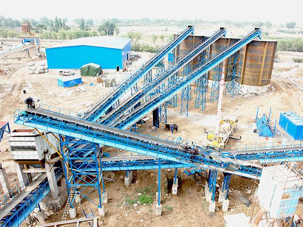 砂石制砂生产线