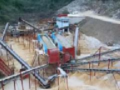 花岗岩、石灰石时产250T的碎石制砂生产线