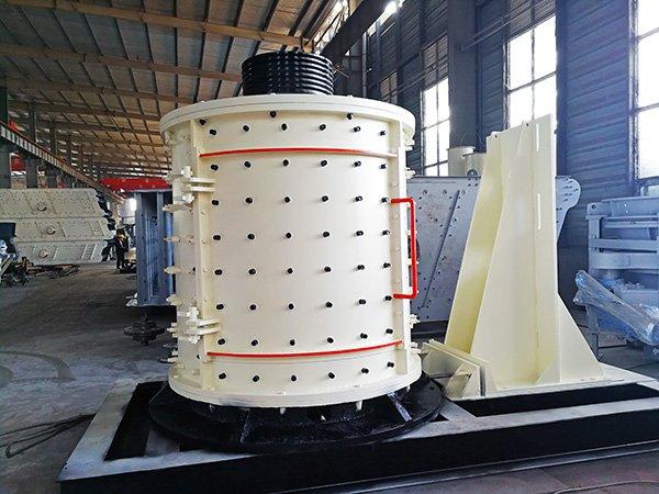 立式复合式破碎机-立式河卵石制砂生产线