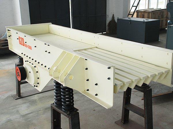 振动给料机-石料线板式给料机,矿山专用
