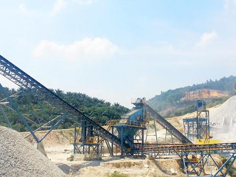 碎石制砂生产线_机制砂生产线_砂石石料