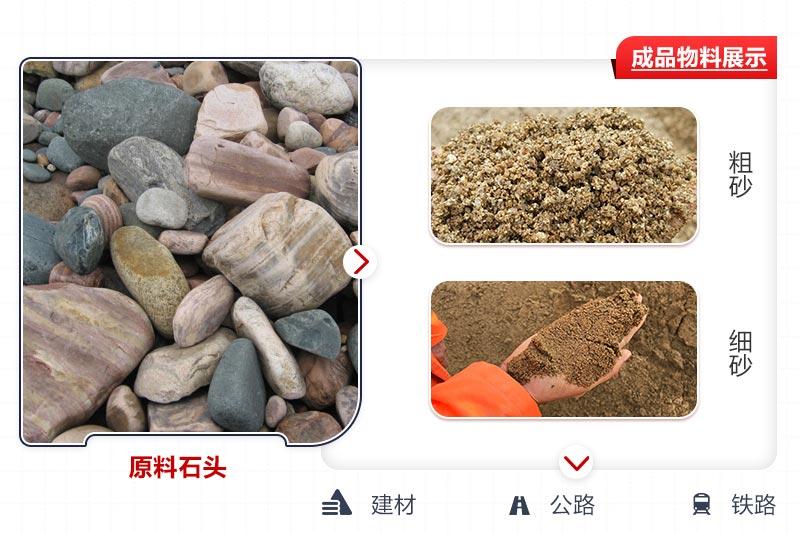 原料石头打沙效果图