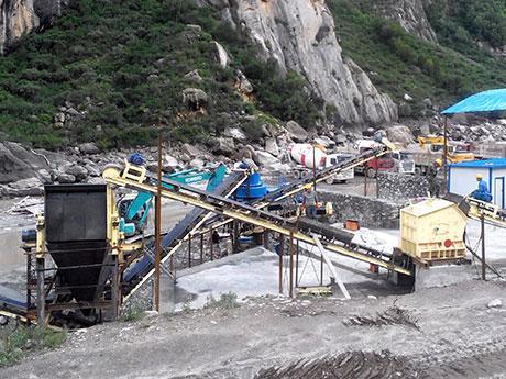 日产1000吨的破碎生产线,需要投资多少钱?