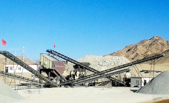 花岗岩制砂生产线配置方案