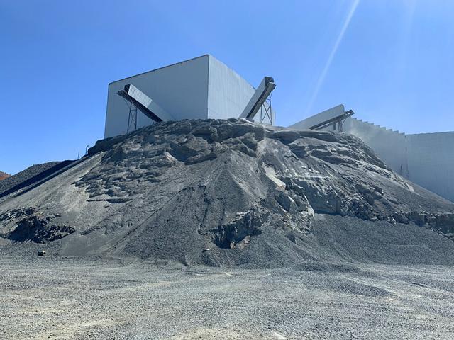 时产500t碎石制砂生产线如