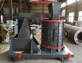 立轴制砂机的结构组成及用途