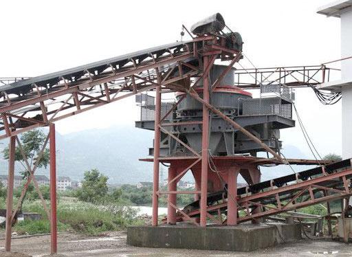 石头制砂机设备常用的机械有哪些